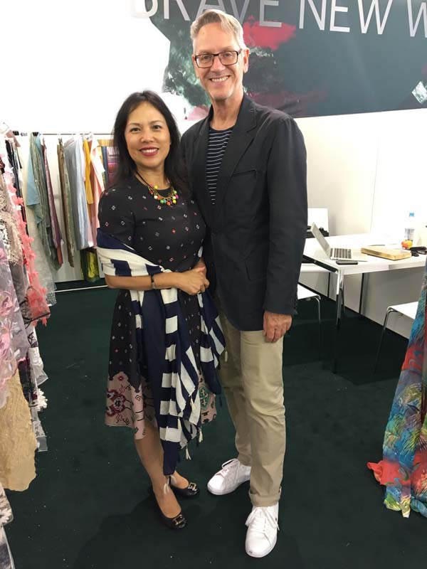 east and silk fabric exhibition L A 2020